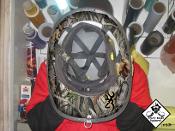 Hunting - Under Helmet Decal