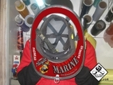 Marine Jarhead - Under Helmet Decal