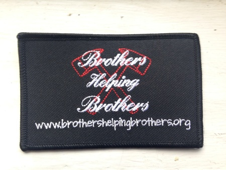 Brothers Helping Brothers Patch Patch