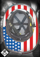 True USA Color - Under Helmet Decal