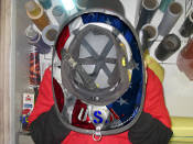 USA - Under Helmet Decal