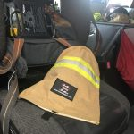 Recycled Fire Gear SCBA Bag